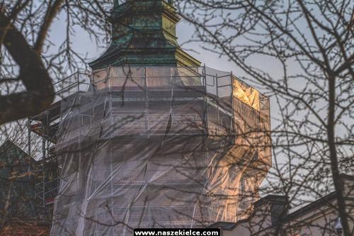 kielce wiadomości Trwa remont Pałacu Biskupów Krakowskich (ZDJĘCIA)