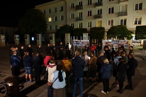 kielce wiadomości Odmawiali różaniec na Placu Artystów (WIDEO)