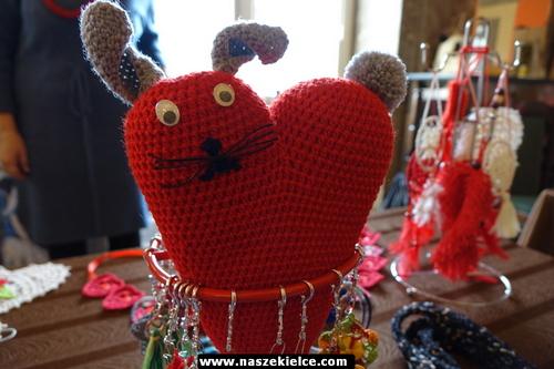 kielce wiadomości Walentynkowe rękodzieła w WDKu (ZDJĘCIA)
