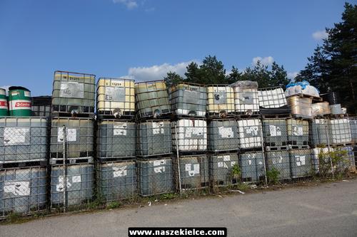 kielce wiadomości Niebezpieczne składowisko odpadów na Krakowskiej. Chemiczny biznes oskarżonego wójta Piekoszowa (ZDJĘCIA)