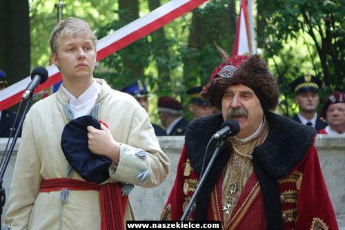 kielce wiadomości Kielczanie uczcili rocznicę uchwalenia Konstytucji 3 Maja (ZDJĘCIA,WIDEO)