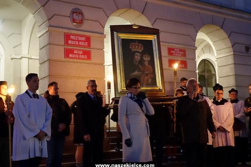 kielce wiadomości Kielczanie uczcili patronkę miasta (ZDJĘCIA,WIDEO)