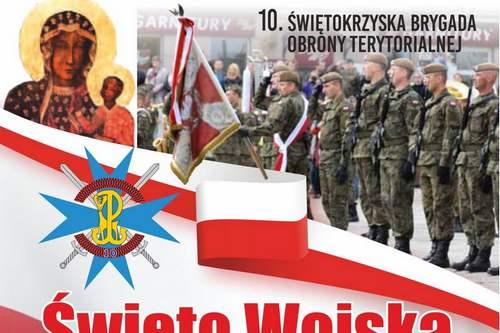kielce wiadomości Święto Wojska Polskiego z Świętokrzyską Brygadą Obrony Terytorialnej