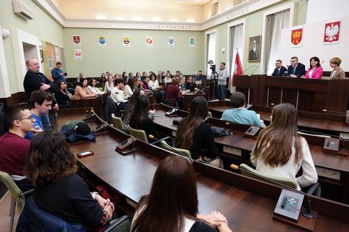 """kielce wiadomości Będąc """"w drodze"""" zatrzymali się w Kielcach"""
