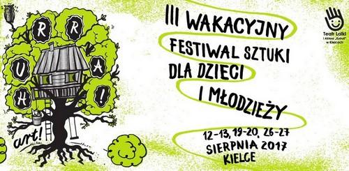 kielce wiadomości III Wakacyjny Festiwal Sztuki dla Dzieci i Młodzieży Hurra! AR