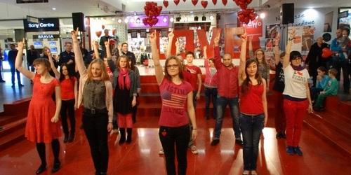 kielce wiadomości W Walentynki zatańczą na Rynku przeciwko gwałtom na randkach