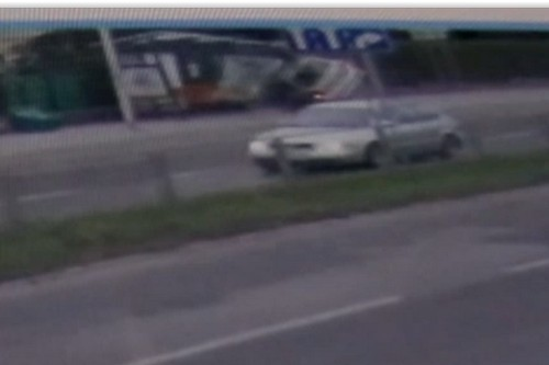 kielce wiadomości Wjechał w przystanek w centrum Kielc. Zobacz wideo z wypadku (WIDEO)