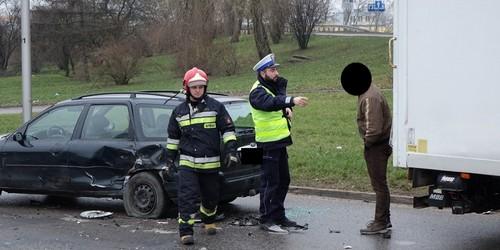 kielce wiadomości Trzy auta zderzyły się na Krakowskiej (ZDJĘCIA)