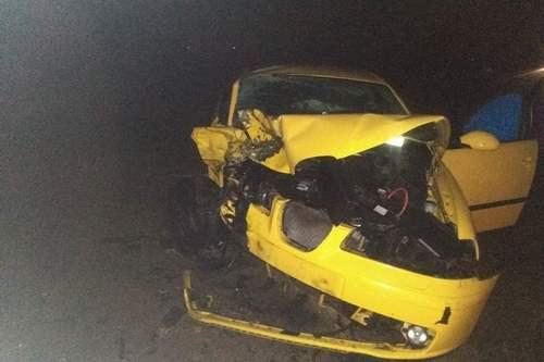 kielce wiadomości Czołowe zderzenia Seata z Audi. Jeden z kierowców był nietrzeźwy (ZDJĘCIA)