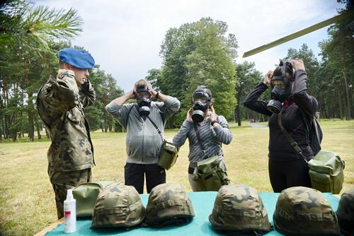 kielce wiadomości Podjęli wojskowe wyzwanie na Bukówce (ZDJĘCIA)