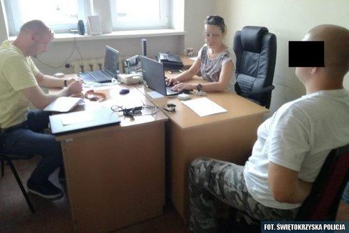 kielce wiadomości Świętokrzyscy policjanci zatrzymali posiadacza treści pedofilskich