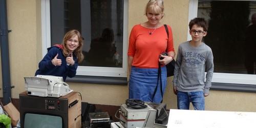 kielce wiadomości Dzieciaki z Konopnickiej zbierały elektrośmieci (ZDJĘCIA,WIDEO