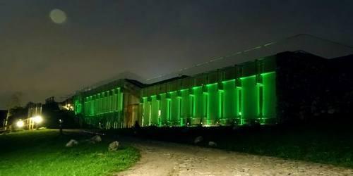 kielce wiadomości Centrum Geoedukacji na zielono a Geopark z nowym logo