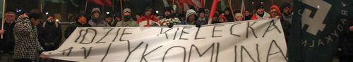 Dwa marsze przeszły przez Kielce - zdjęcia,video