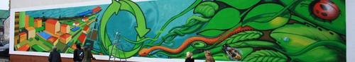 kielce wiadomości Eko-sztuka ulicy po kielecku - zdjęcia