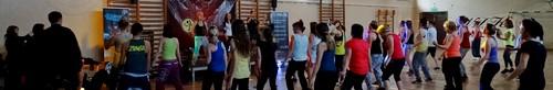 kielce sport Ćwiczyli i pomagali - charytatywny maraton zumba dla Bartka (zdjęci