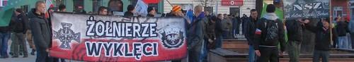 wiadomości Przez Kielce przeszedł Marsz pamięci Żołnierzy Wyklętych - zdjęcia,vi