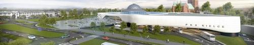kielce wiadomości Nowy Dworzec PKS - skończy się na wizualizacji, czy projekt we
