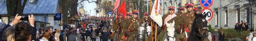 Kieleckie obchody Święta Niepodległości za nami - zdjęcia,video