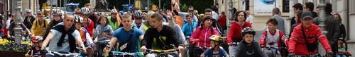 kielce wiadomości Setki rowerzystów na Masie Krytycznej - zdjęcia,video