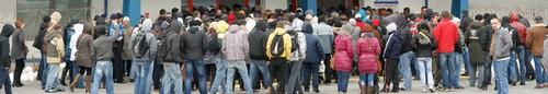 kielce wiadomości Tłum bezrobotnych na Targach Pracy - zdjęcia