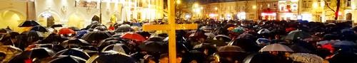 kielce wiadomości Tłumy kielczan uczestniczyły w Drodze Krzyżowej- Świętokrzyski