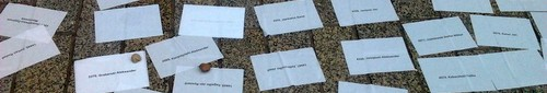 kielce wiadomosci Tysiące kartek na Sienkiewicza ku pamięci ofiar Katynia - zdje