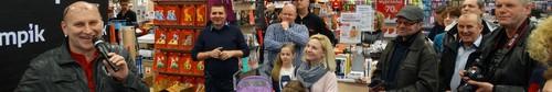 kielce kultura Włodek Pawlik spotkał się z fanami w kieleckim Empiku - zdjęcia,v