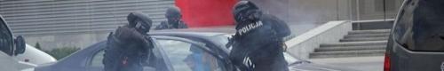 kielce wiadomości Policyjna akcja w Targach Kielce (zdjęcia)
