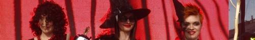 kielce wiadomości Świętokrzyskie czarownice na wybiegu - niezwykły pokaz na Rynk