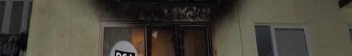 kielce wiadomości Pożar balkonu na ulicy Konopnickiej