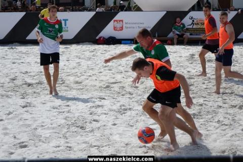 kielce sport Kielecki Rynek zamienił się w sportową arenę (ZDJĘCIA)
