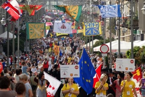 kielce wiadomości Europejski folklor znów wypełni Kielce
