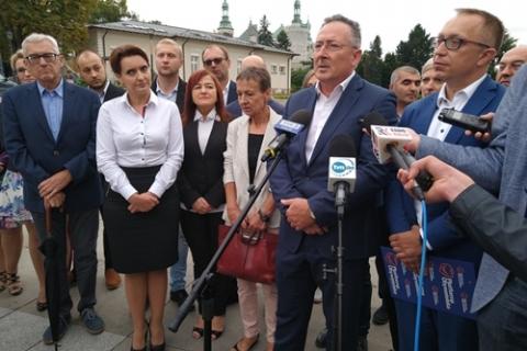 kielce wiadomości Koalicja Obywatelska prezentuje świętokrzyskich kandydatów w wyborach parlamentarnych