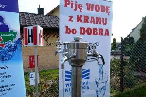 kielce wiadomości Nowy wodociąg w Kowali już gotowy