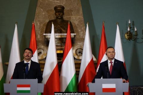 kielce wiadomości Do Kielc przyjechali prezydenci Polski i Węgier (ZDJĘCIA,WIDEO)