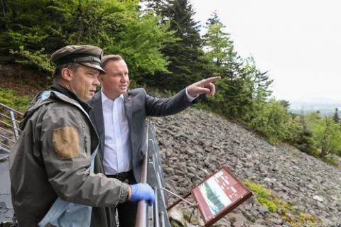 kielce wiadomości Prezydent Andrzej Duda odwiedził region świętokrzyski (ZDJĘCIA)