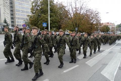 kielce wiadomości Świętokrzyska Brygada Obrony Terytorialnej rośnie w siłę (ZDJĘCIA,WIDEO)