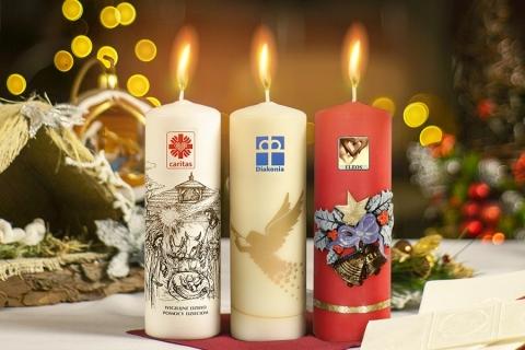 kielce wiadomości Sprzedają świece, by pomagać najmłodszym. Caritas ruszyła z doroczną akcją charytatywną