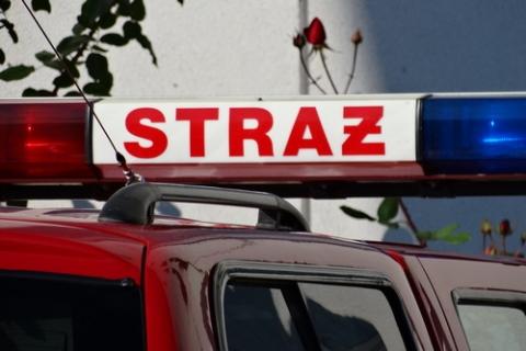 kielce wiadomości Eksplozja raniła strażaka. Po długiej walce o życie zmarł