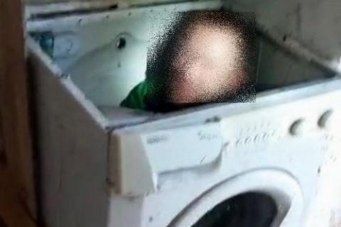 kielce wiadomości Przed policjantami schował się do pralki