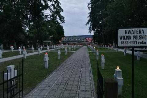 kielce wiadomości Kieleccy patrioci uczcili poległych żołnierzy