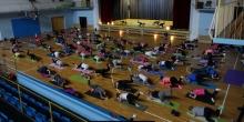 kielce wiadomości Pilates i joga dla chorej Jagódki (ZDJĘCIA,WIDEO)
