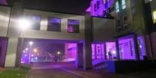 kielce wiadomości Fioletowy szpital i galeria dla wcześniaków