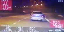 kielce wiadomości Rozpędził Hondę na Krakowskiej do 155 km/h