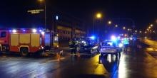 kielce wiadomości Audi uderzył w autobus miejski (ZDJĘCIA,WIDEO)